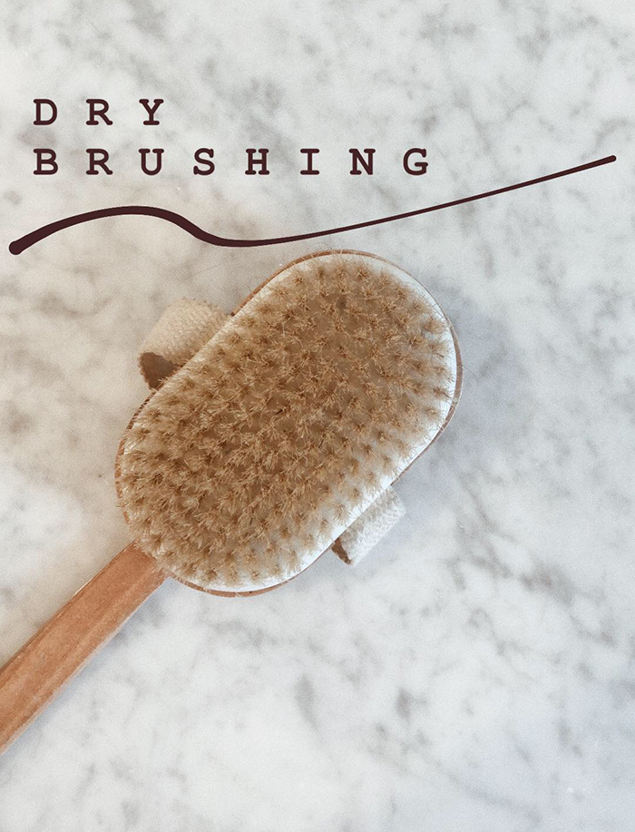 the benefits of dry brushing your skin