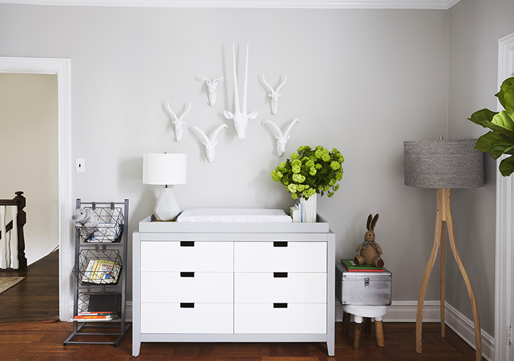 Boys Grey and White Nursery