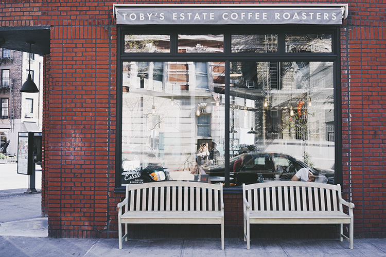 Best Coffee Shops in NYC - Toby's Estate