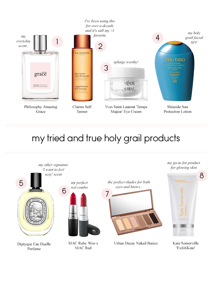 Holy Grail Beauty Favorites
