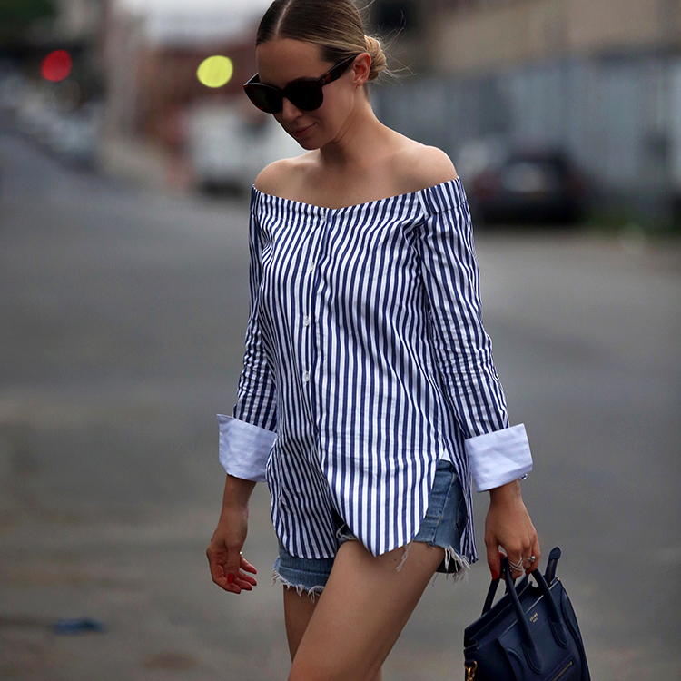 Rag & Bone off the shoulder shirt