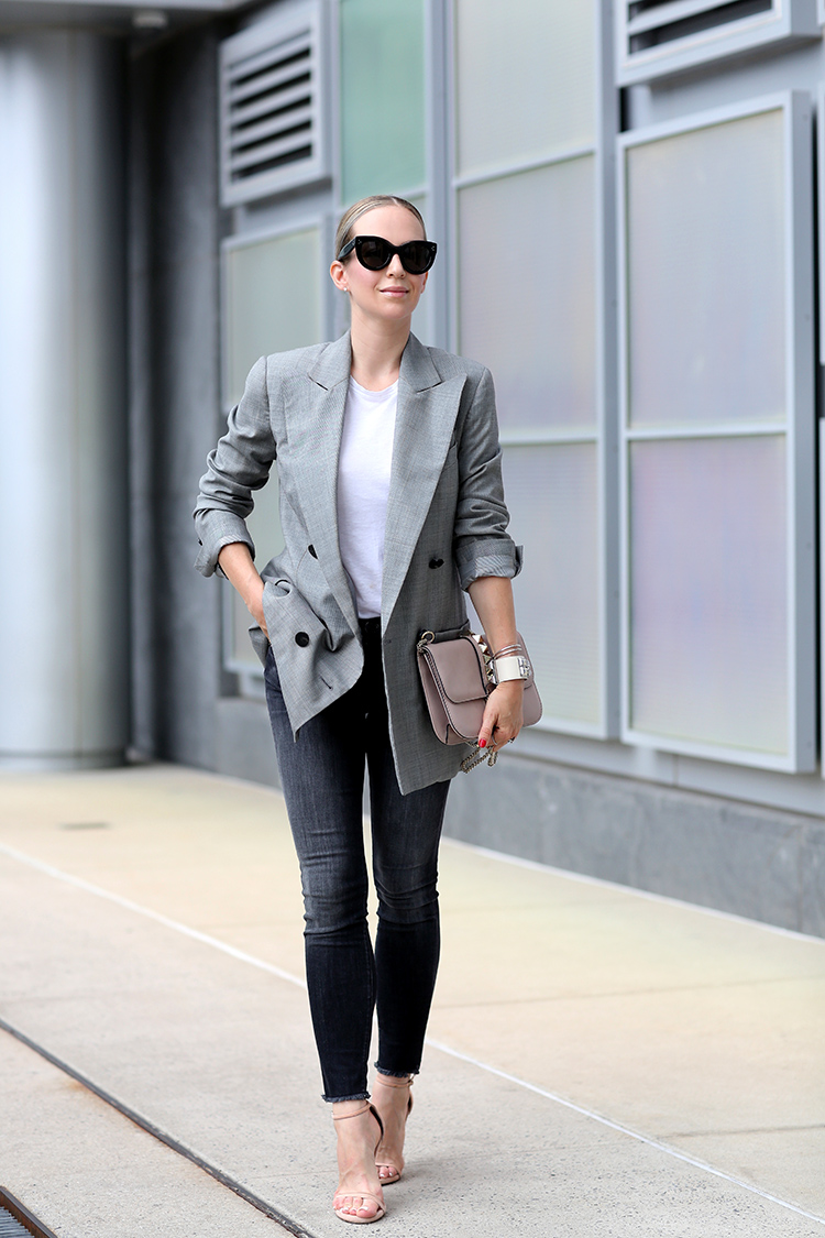 an outfit that will take you from work to dinner