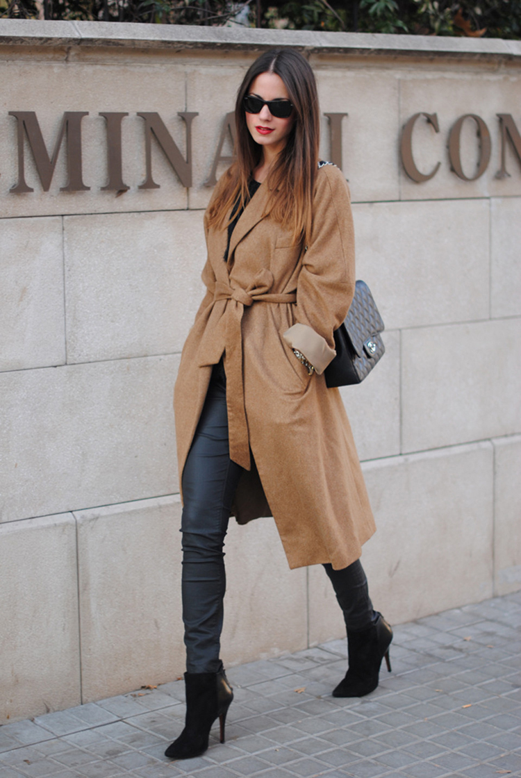 camel coat outfit inspiration