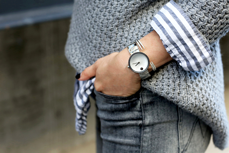 Movado Edge Watch | Helena of Brooklyn Blonde