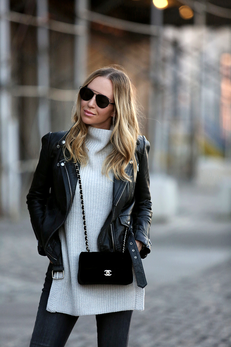 Chanel Classic in Velvet | Fall Style | Brooklyn Blonde
