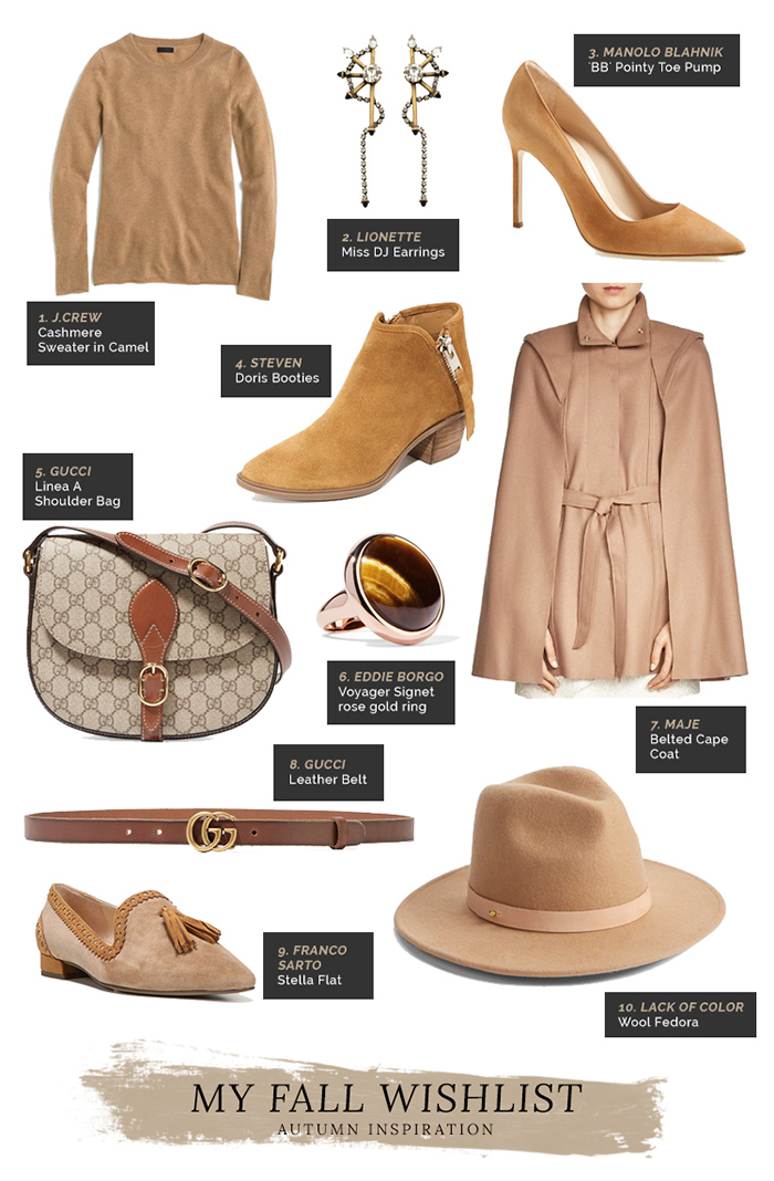 must have items for fall