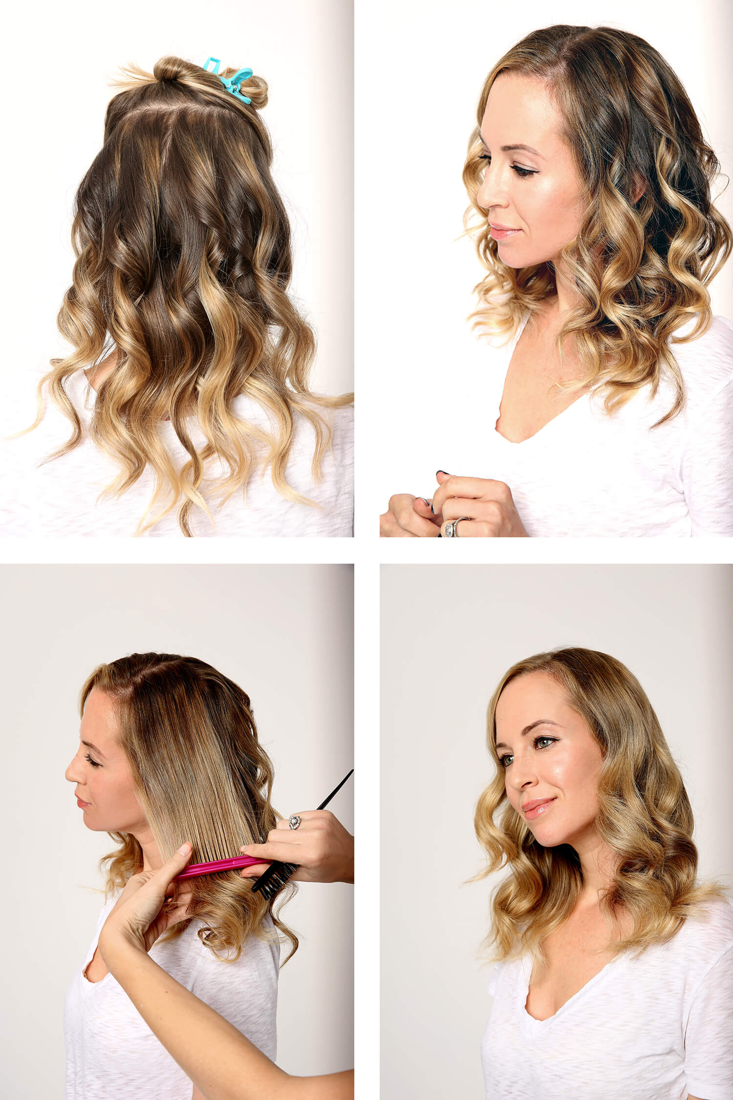 How To do Modern Hollywood Glam Hair Tutorial