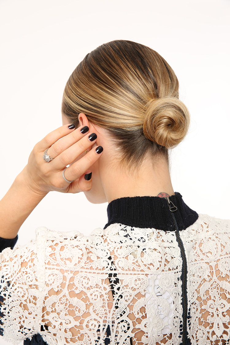 Sleek Low Bun Hair Tutorial with Nexxus