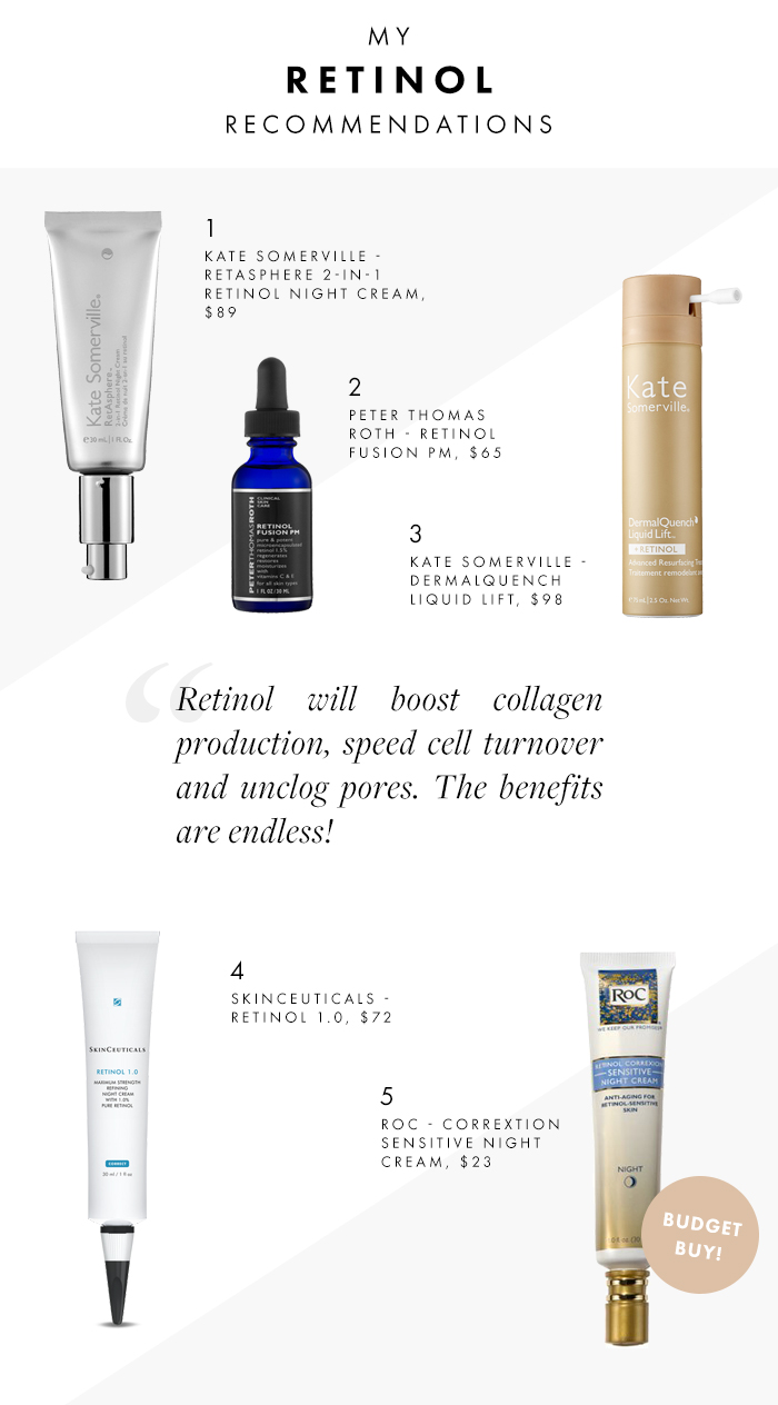 what is retinol and how to use it my recommended retinol products