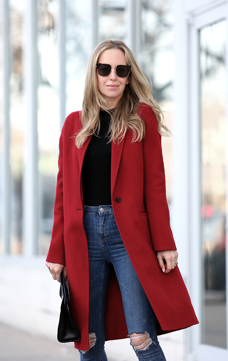 Bold Red Coat
