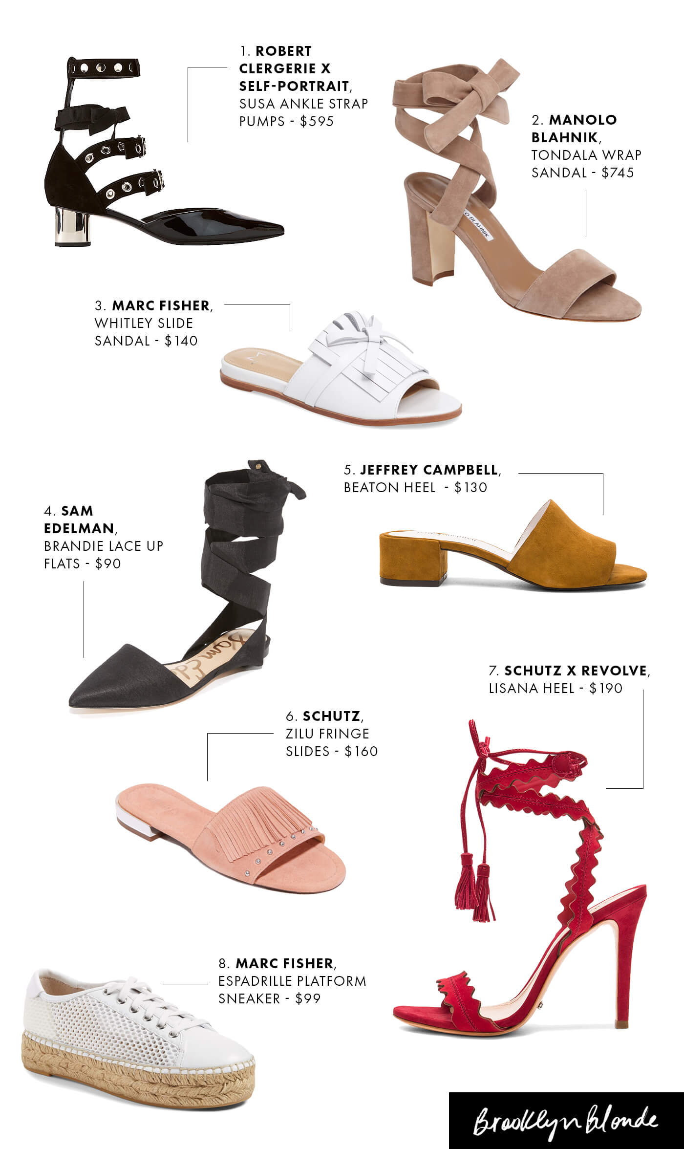 The Eight Most Stylish Shoes For Spring | Brooklyn Blonde