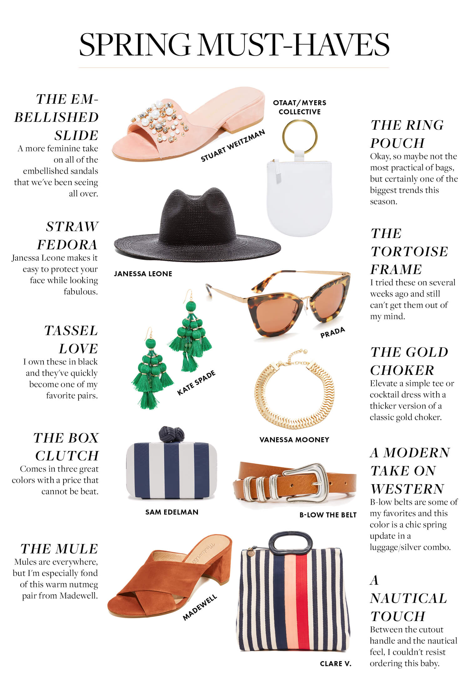 Spring Must Have Items: Spring Must-Haves