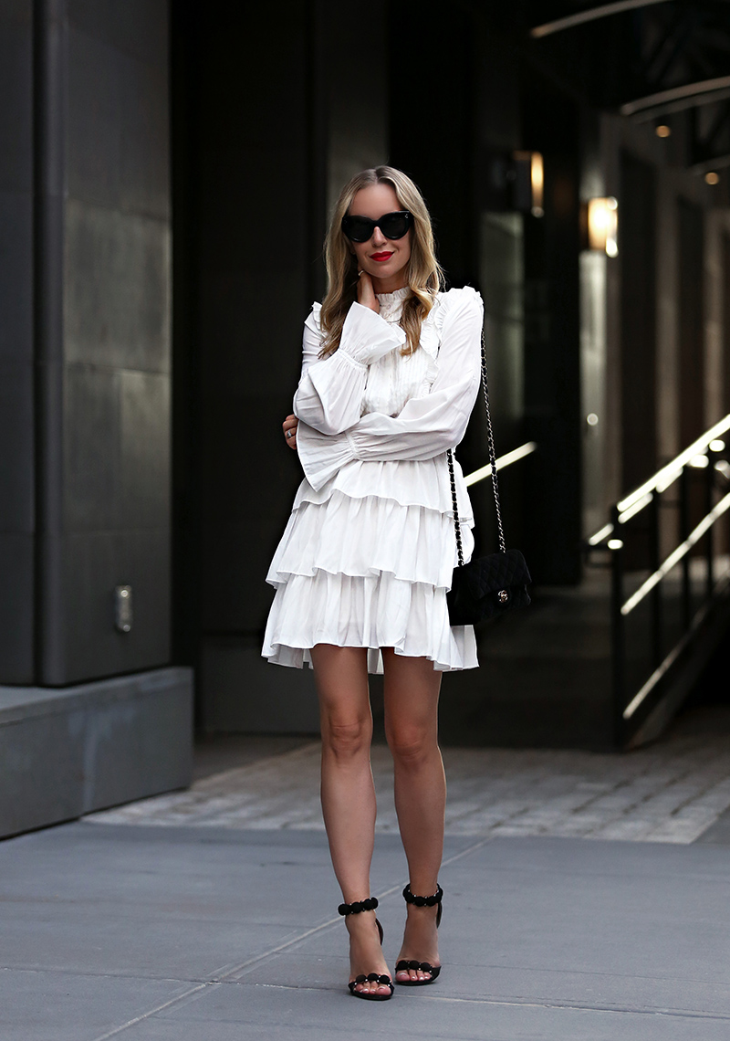 My Favorite White Dresses (+ Self Tanner to go along with) | Brooklyn Blonde