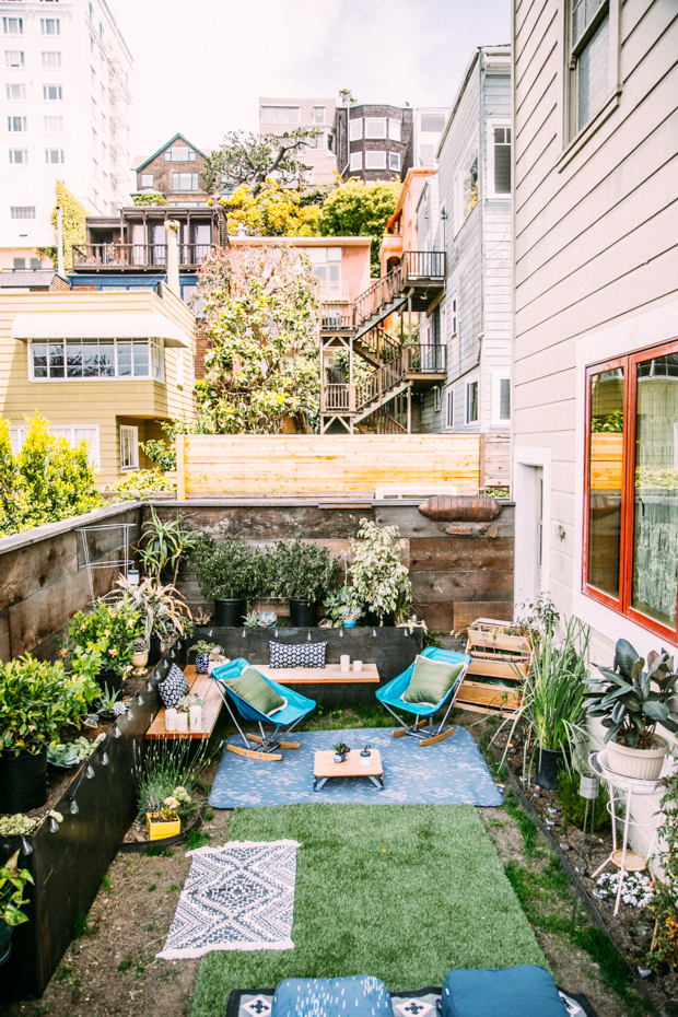 Urban Oasis - Urban backyard inspiration, Brooklyn backyard inspiration