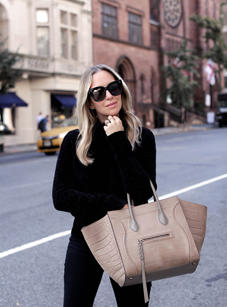 Celine Phantom and Celine Tilda Sunglasses | Helena Glazer of Brooklyn Blonde