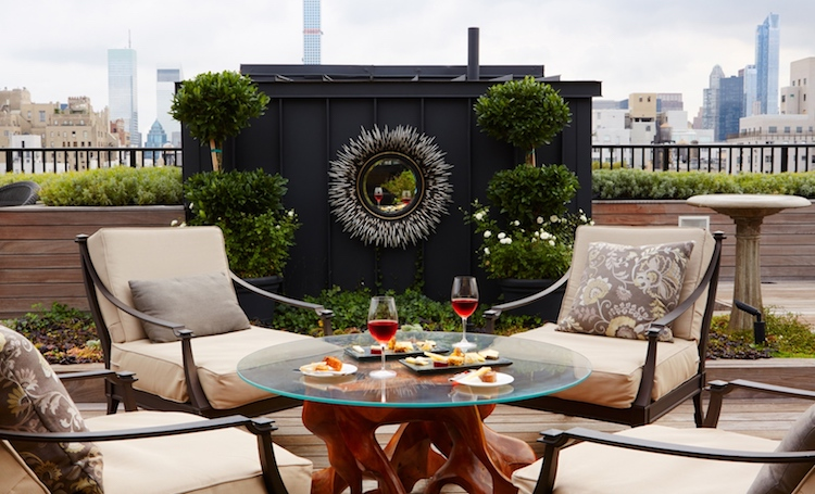 Best NYC Hotels, The Surrey Hotel, Rooftop