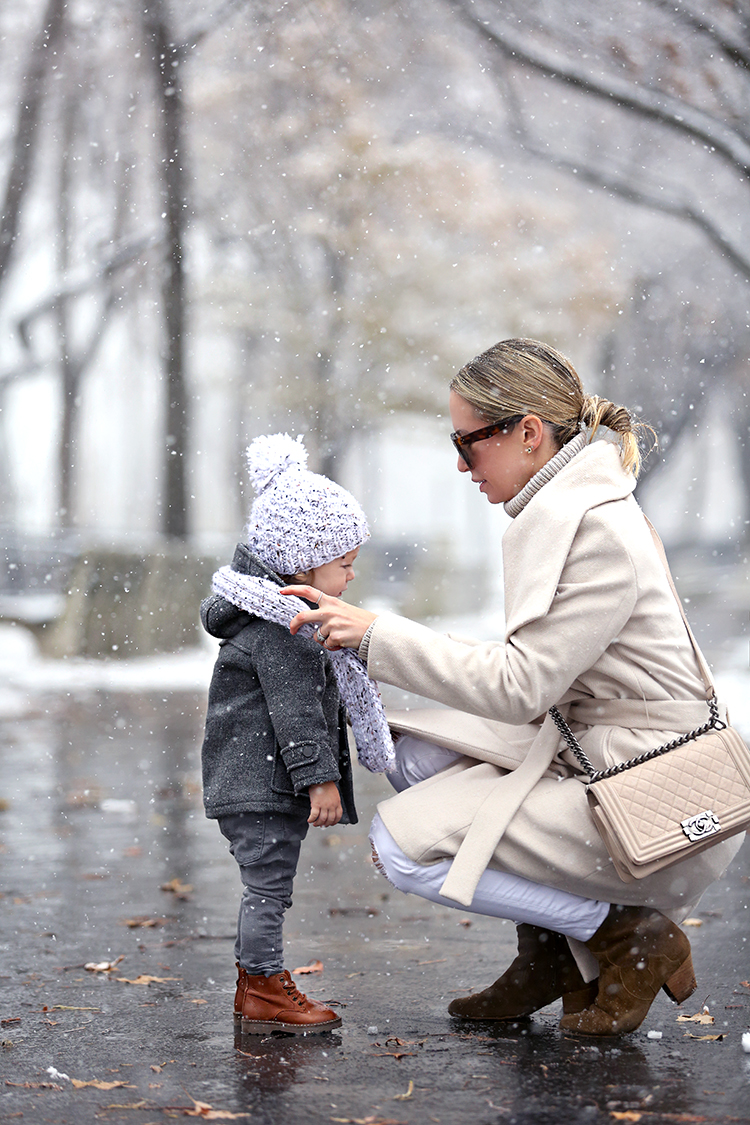 Snow Day Outfit, Kids Winter Style, Helena of Brooklyn Blonde