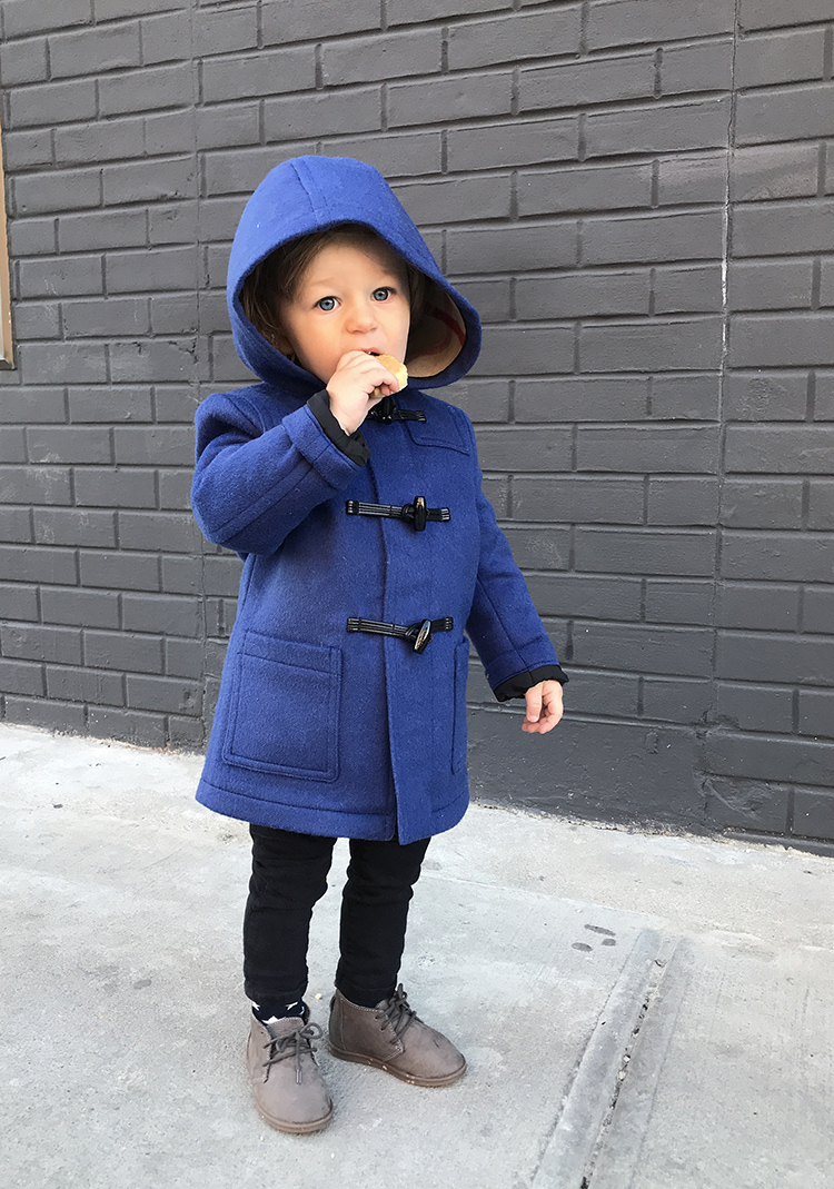 Far Fetch Kids Coat, Kidswear Style, Burberry, Winter Outfit, Helena of Brooklyn Blonde