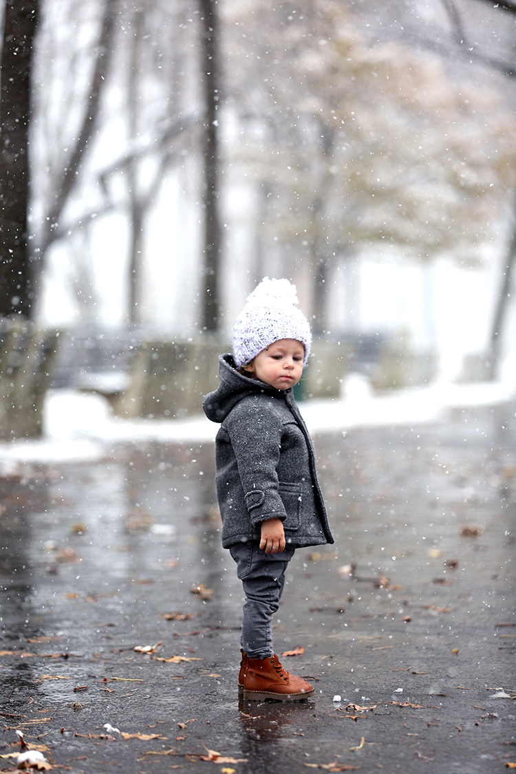 Winter Kids Style, Toddler Outfit, Snow Day, Helena of Brooklyn Blonde