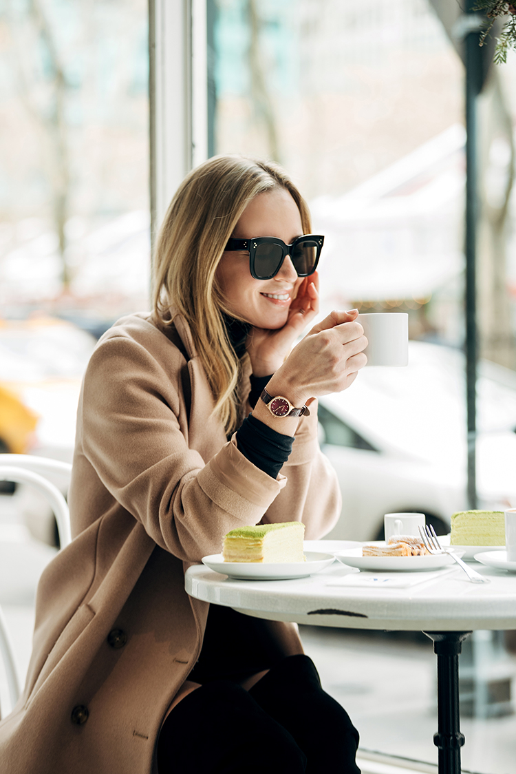 Winter Style, Coffee Shop, Winter Outfit, Helena of Brooklyn Blonde