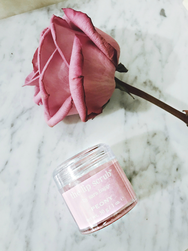 Beauty Favorites, Sarah Happ Lip Scrub, Helena of Brooklyn Blonde