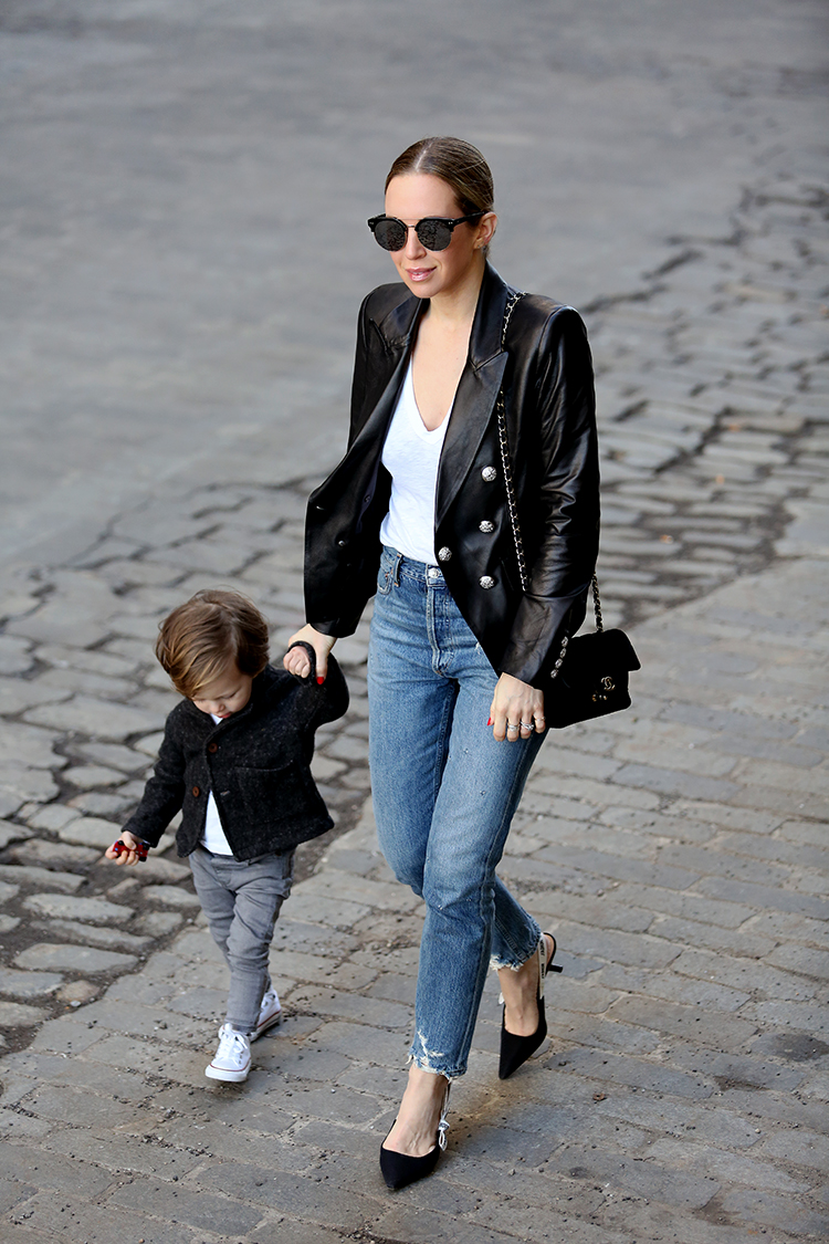 Mom & Toddler Style, New York Street Style, Helena of Brooklyn Blonde