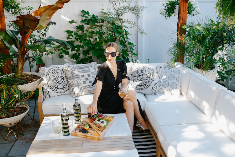 7 Tips For Hosting An Outdoor Party, Helena of Brooklyn Blonde