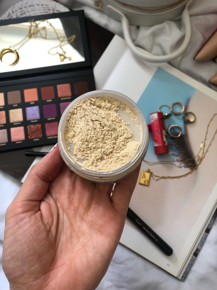 Laura Mercier Translucent Loose Setting Powder, Beauty Products I'm Loving, Helena of Brooklyn Blonde