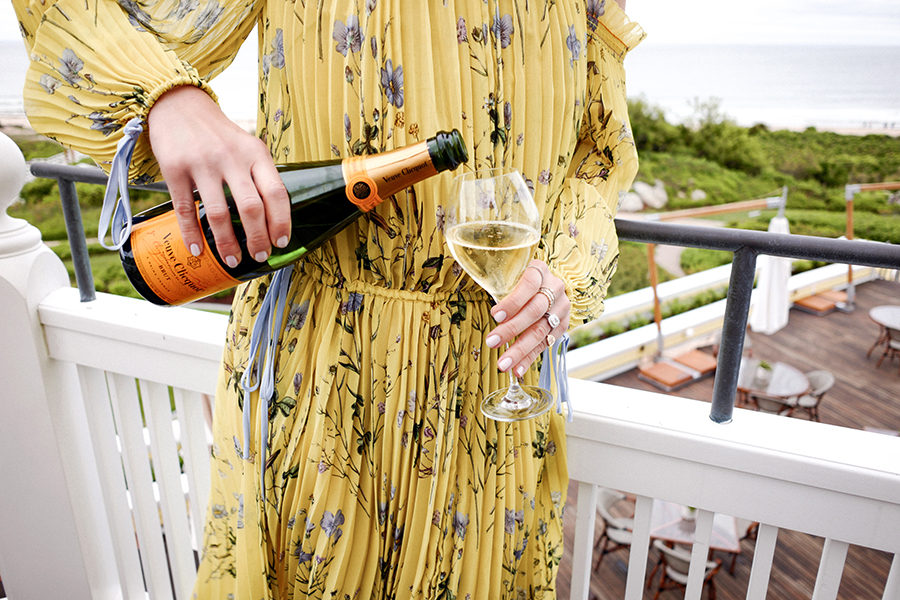 Veuve Clicquot Summer Beverage, Helena of Brooklyn Blonde