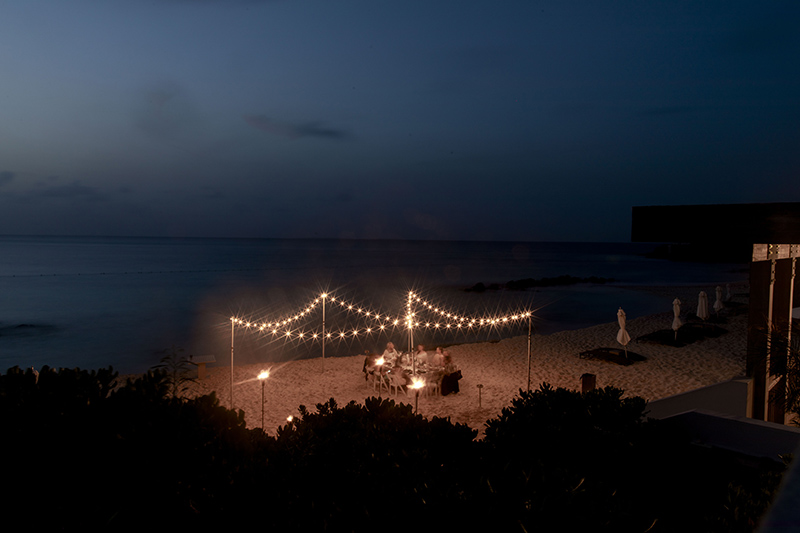 Four Seasons Anguilla, Ocean Front Evening Dining, Helena of Brooklyn Blonde