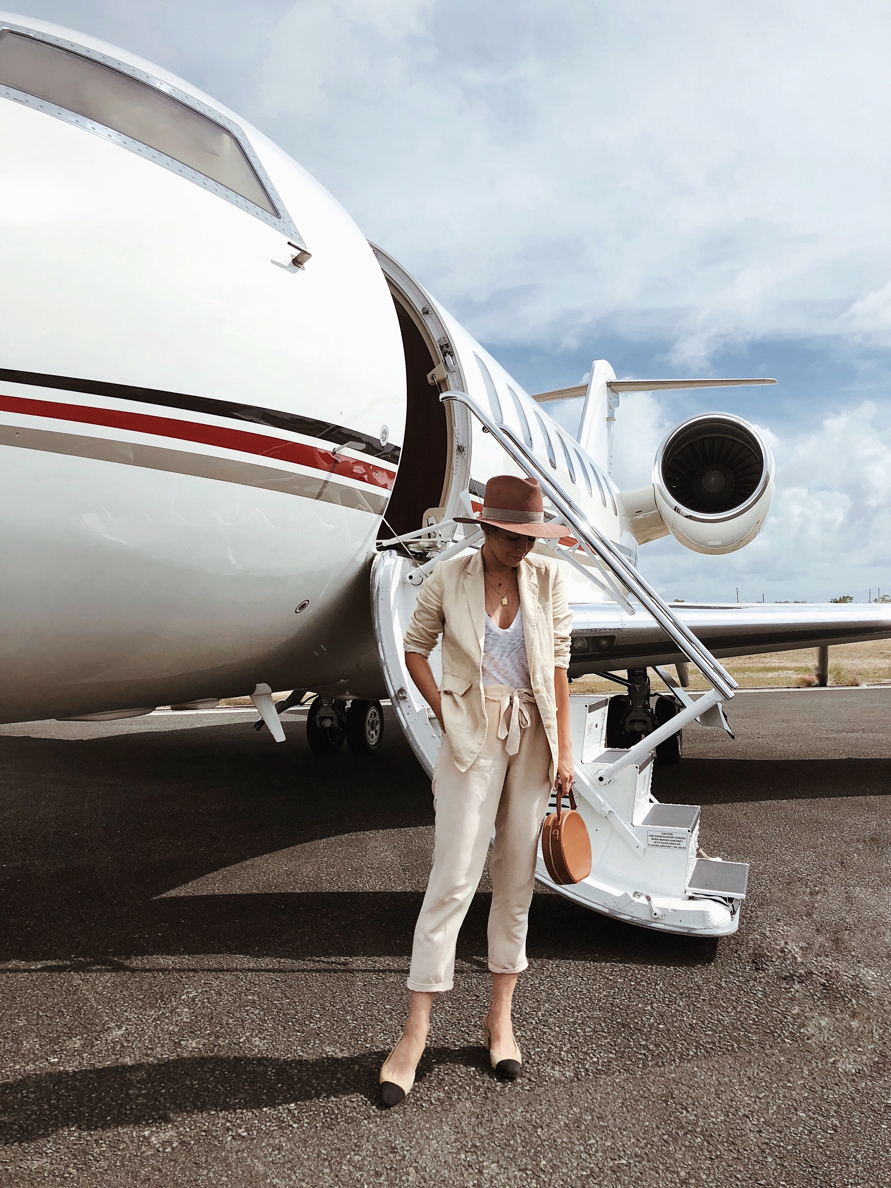 NetsJets Private Aircraft, Travel, Helena of Brooklyn Blonde