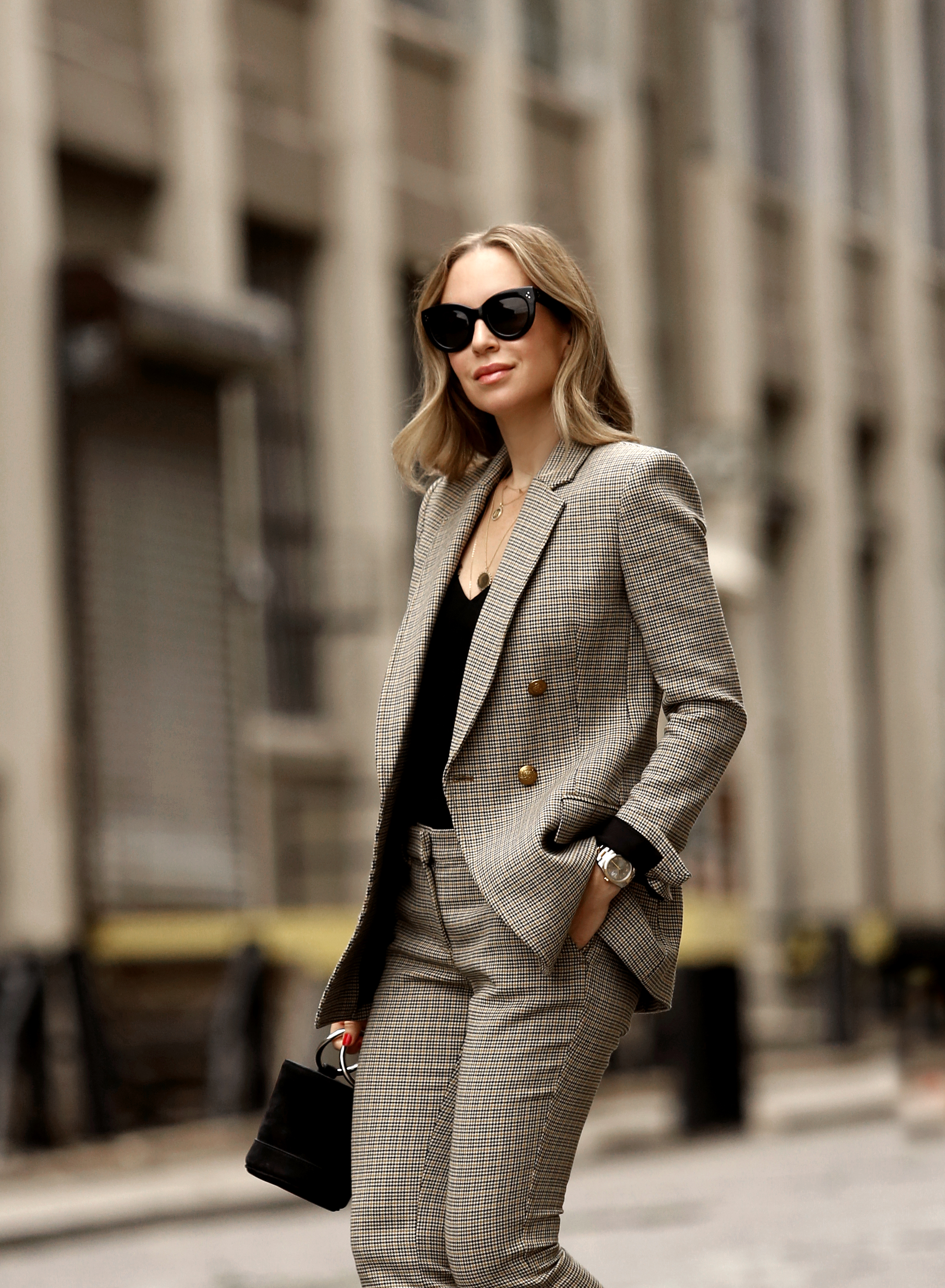 Plaid Power Suit | A.I.C. Suit