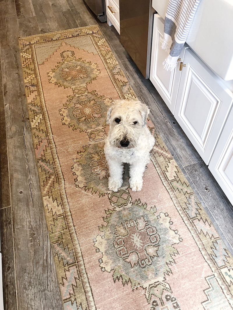 Our Kitchen Runner + My Favorite Rug Shops | Brooklyn Blonde