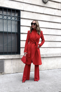 Red Alice+Olivia Outfit