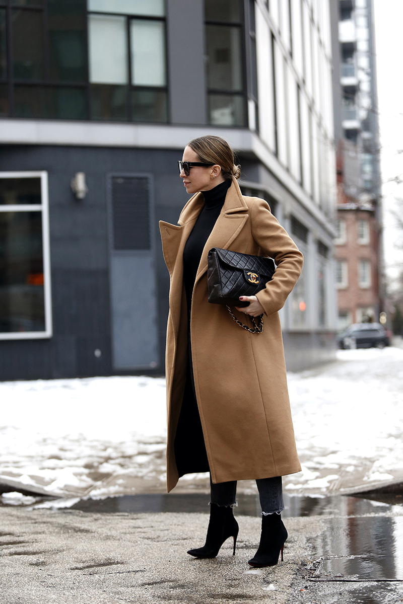 Classic Camel Coat Outfit by Helena of Brooklyn Blonde