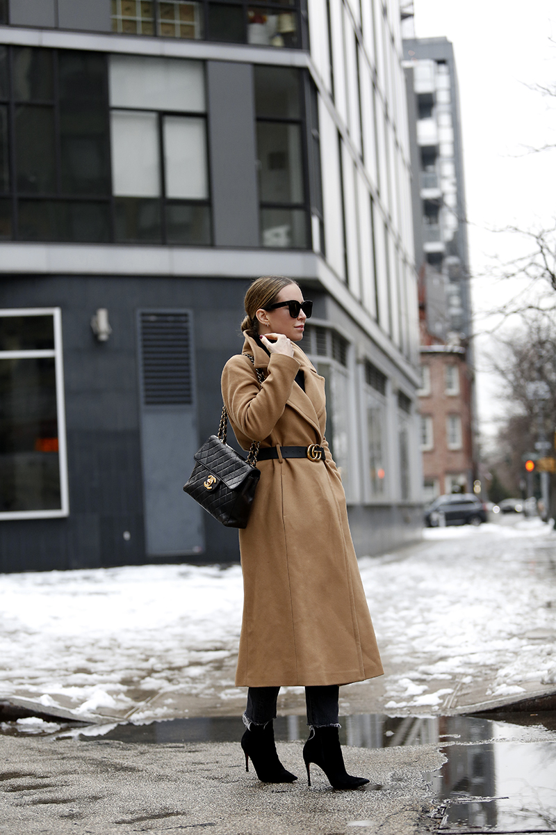 Classic Coat Outfit - Winter Style by Helena of Brooklyn Blonde