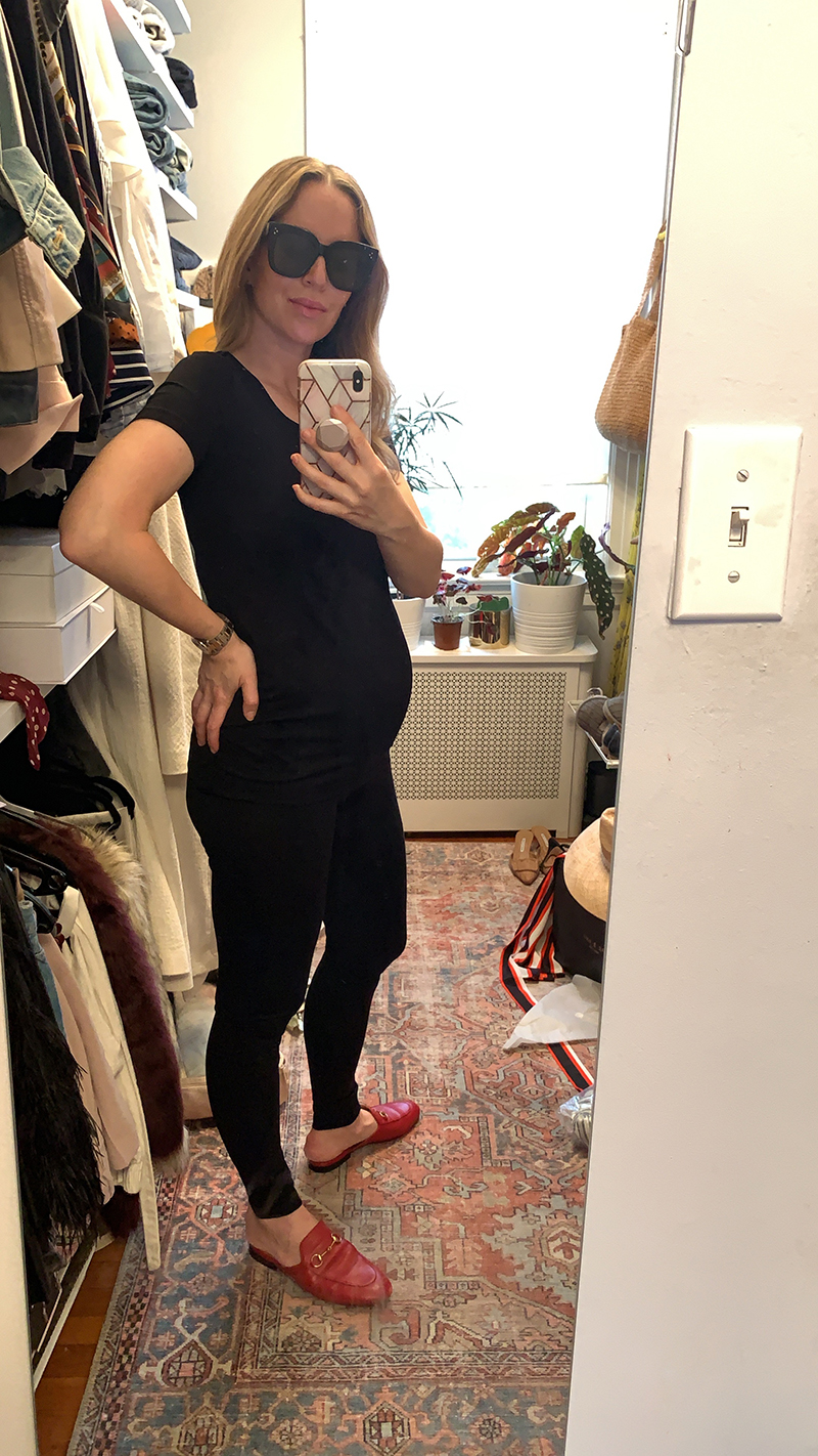 Pregnant Outfits  - Black outfit