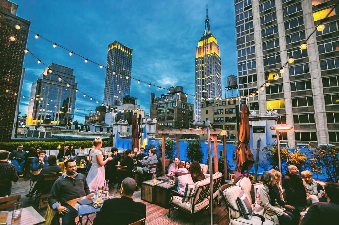 Best Rooftop Bars In Brooklyn And New York City Brooklyn