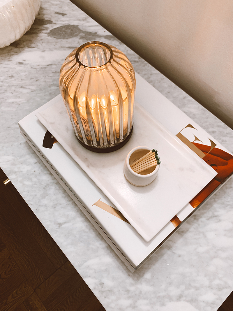 Marble Tray Flat Lay, Decorative Items For The Home