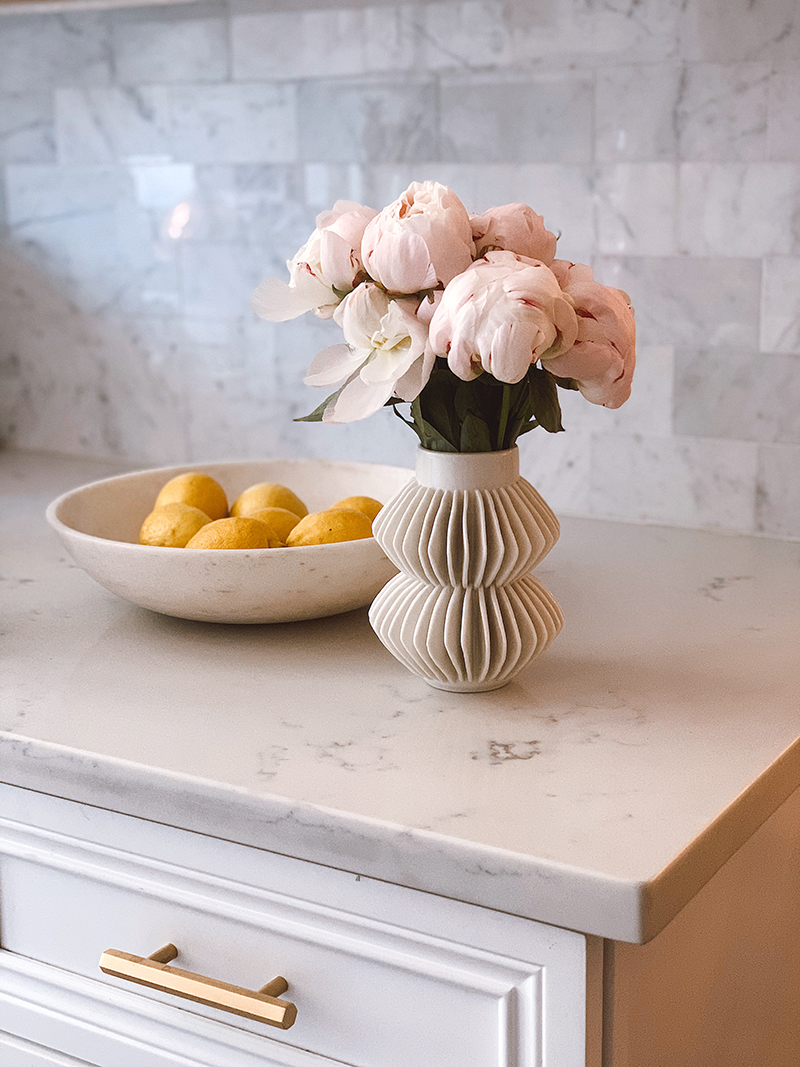 Details Around The Home, Home Decor Accents, CB2 Celia White Vase, Helena of Brooklyn Blonde