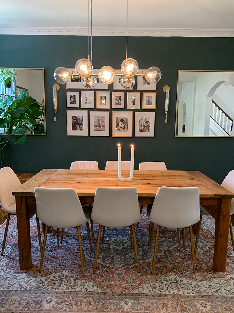 Our Dining Room Makeover