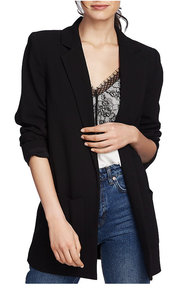 Bloomingdales black jacket