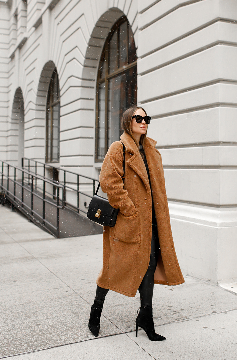 This Shearling Coat is Back